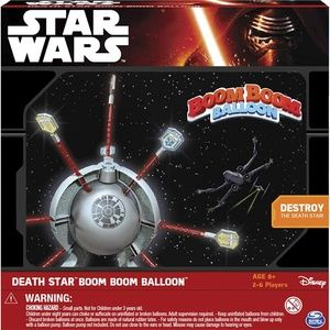 Star Wars Death Star Boom Boom Balloon Spin Master